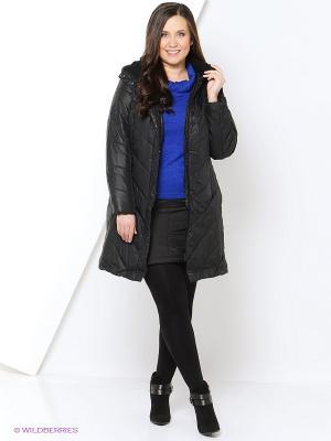 Пальто sheego. Цвет: черный