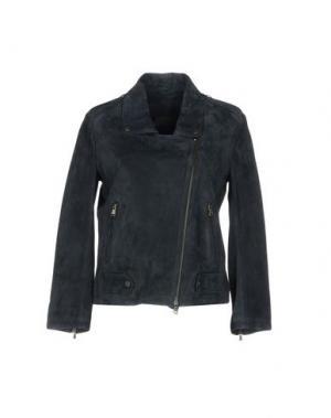 Куртка ENES. Цвет: грифельно-синий