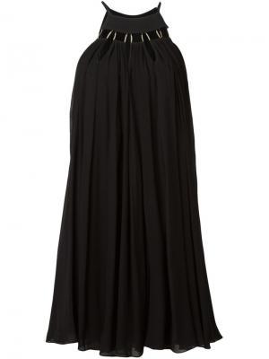 Платье Leto La Mania. Цвет: чёрный