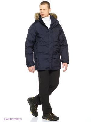 Куртка ANCHORAGE PARKA Jack Wolfskin. Цвет: темно-синий