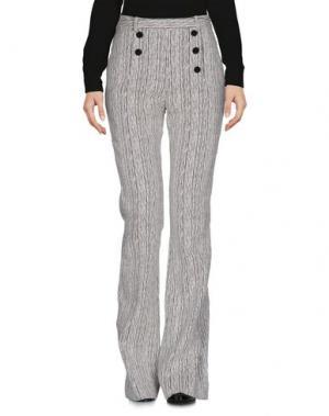 Повседневные брюки CARVEN. Цвет: белый