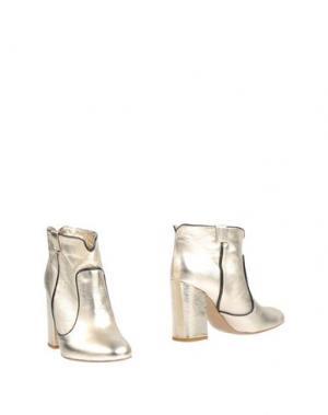 Полусапоги и высокие ботинки OVYE' by CRISTINA LUCCHI. Цвет: платиновый