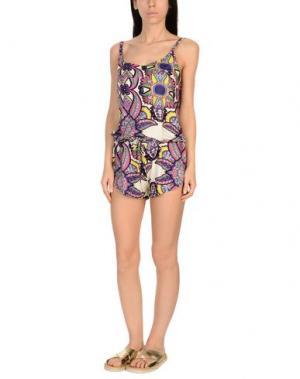 Пляжное платье MISS BIKINI. Цвет: слоновая кость