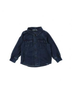 Джинсовая рубашка NAME IT®. Цвет: синий
