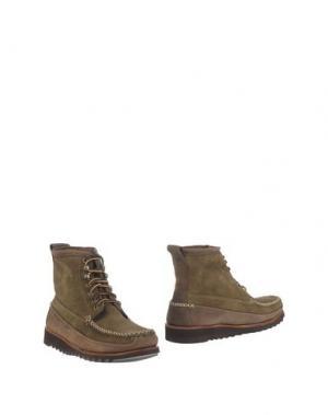Полусапоги и высокие ботинки G.H. BASS & CO. Цвет: хаки