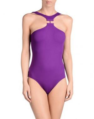 Слитный купальник ERES. Цвет: фиолетовый