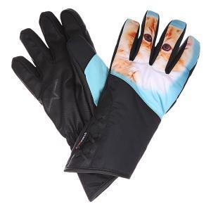 Перчатки сноубордические женские  Maya Glove Meow Celtek. Цвет: белый,мультиколор,черный