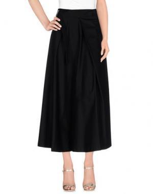 Длинная юбка LAVINIATURRA. Цвет: черный