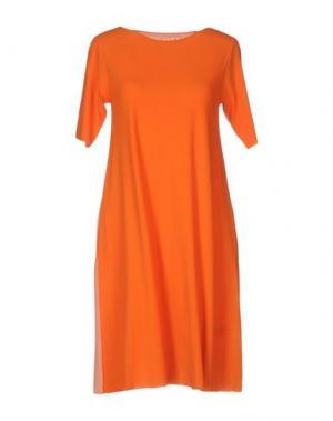 Короткое платье ALMERIA. Цвет: оранжевый