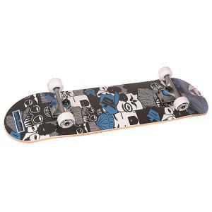 Скейтборд в сборе  Super People Multi 31 x 7.6 (19.3 см) Fun4U. Цвет: мультиколор