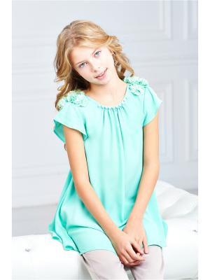 Блузка I love to dream. Цвет: зеленый