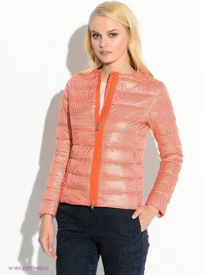 Куртка Henry Cotton's. Цвет: оранжевый