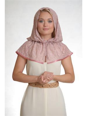 Неспадающий платок Гладиолус Платков.РФ. Цвет: бледно-розовый