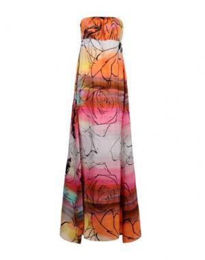 Длинное платье ADELE FADO QUEEN. Цвет: оранжевый