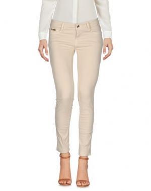 Повседневные брюки EAN 13. Цвет: бежевый