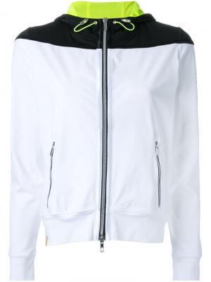 Куртка с капюшоном Monreal London. Цвет: белый