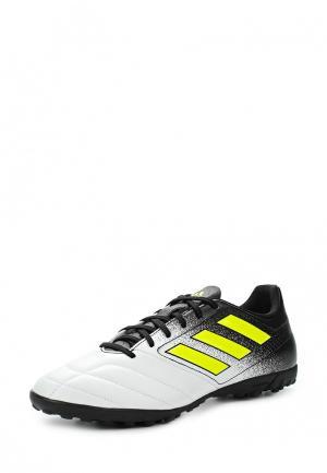 Шиповки adidas. Цвет: белый