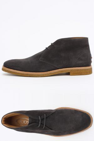 Ботинки Tods Tod's. Цвет: темно-серый