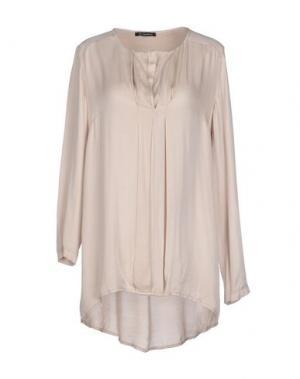 Блузка OLLY DOO. Цвет: бежевый