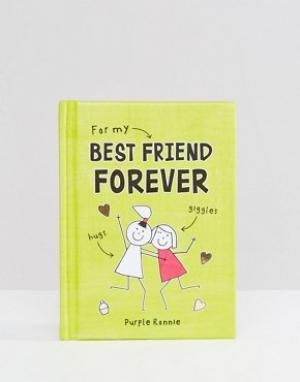 Books Книга For My Best Friend Forever. Цвет: мульти