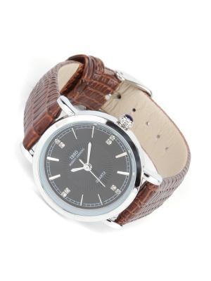 Часы на ремне IBSO. Цвет: черный, коричневый
