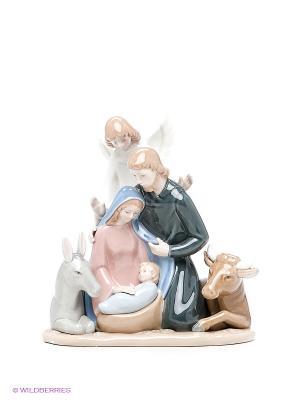 Композиция Рождество Христово Pavone. Цвет: серый, темно-серый, голубой
