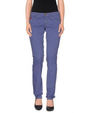 Повседневные брюки UNLIMITED. Цвет: фиолетовый