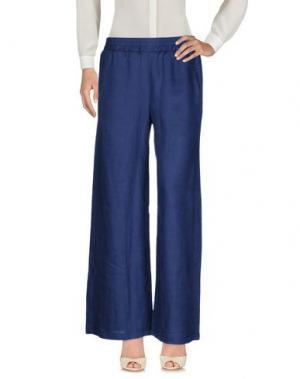 Повседневные брюки GANESH. Цвет: темно-синий