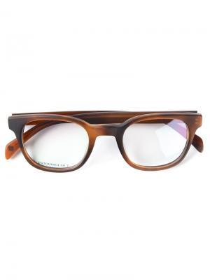 Очки с оптическими стёклами Entourage Of 7. Цвет: коричневый