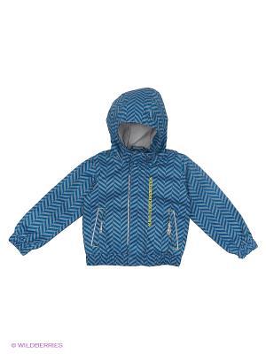 Куртка (Ветровка) Button Blue. Цвет: синий