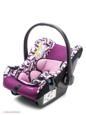 Детское автомобильное кресло ЭГИДА ЛЮКС коллекция ART SIGER. Цвет: фиолетовый