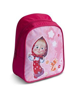 Рюкзачок малый Маша и Медведь Фантазия. Цвет: розовый, красный