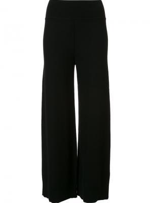 Укороченные брюки с завышенной талией Sonia Rykiel. Цвет: чёрный