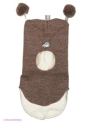 Шапка-шлем Kivat. Цвет: серо-коричневый