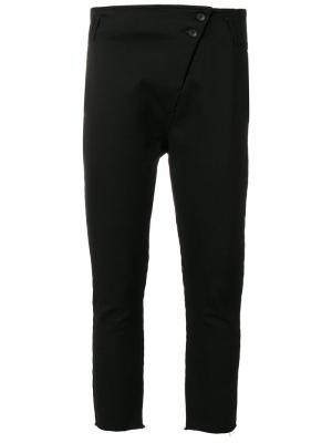 Укороченные брюки Thom Krom. Цвет: чёрный