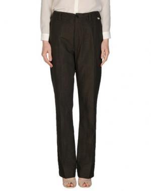 Повседневные брюки BSBEE. Цвет: серый