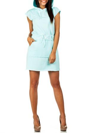 Платье Moe. Цвет: turquoise