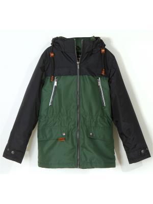 Куртка для мальчика AVESE. Цвет: хаки
