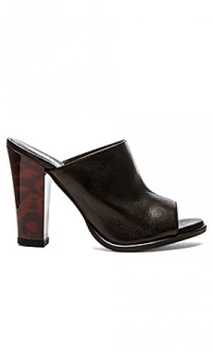 Туфли на каблуке classic open toe The Mode Collective. Цвет: черный
