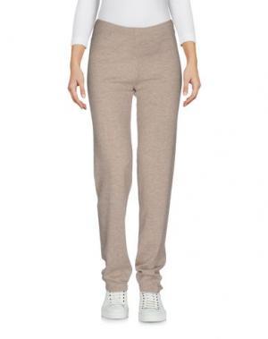 Повседневные брюки NOT SHY. Цвет: бежевый