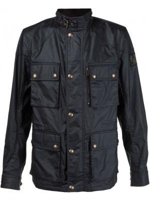 Куртка Belstaff. Цвет: чёрный