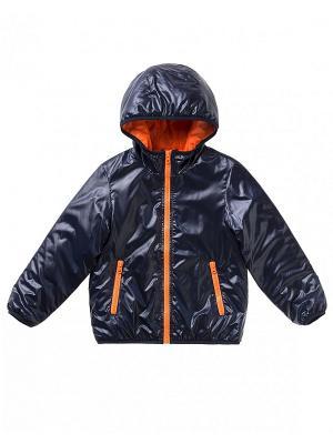 Куртка United Colors of Benetton. Цвет: темно-синий