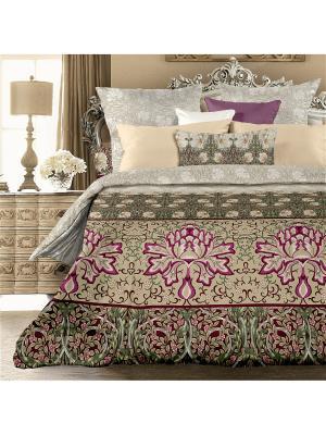 Комплект постельного белья 1,5 биоматин Форли Унисон. Цвет: серый, бежевый