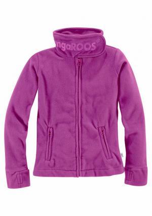 Флисовая куртка Kangaroos. Цвет: зелено-синий