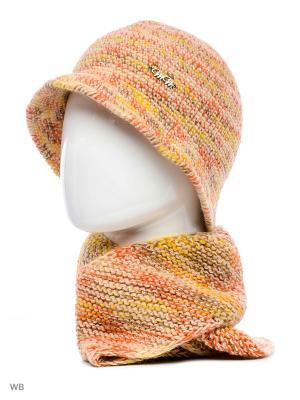 Шляпа Калейдоскоп ТТ. Цвет: бежевый, оранжевый