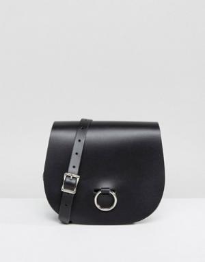 Leather Satchel Company Сумка. Цвет: черный