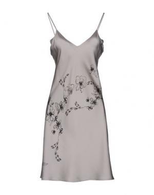 Короткое платье GENTRYPORTOFINO. Цвет: светло-серый