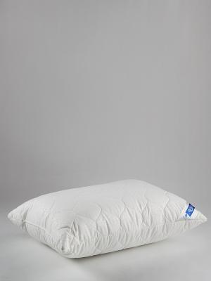 Подушка Бамбук ТекСтиль. Цвет: белый