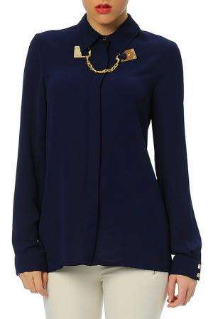 Блуза Ludomara fashion. Цвет: синий