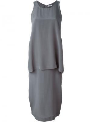 Платье Brenda D.Efect. Цвет: серый